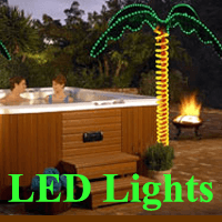 Decorative LED Palm Tree Lights